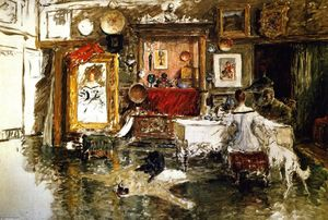 William Merritt Chase - The Tenth Street Studio