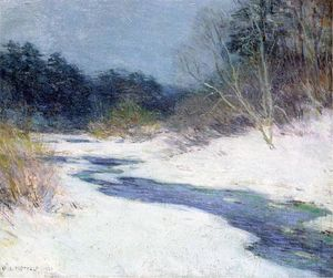 Willard Leroy Metcalf - Thawing Brook
