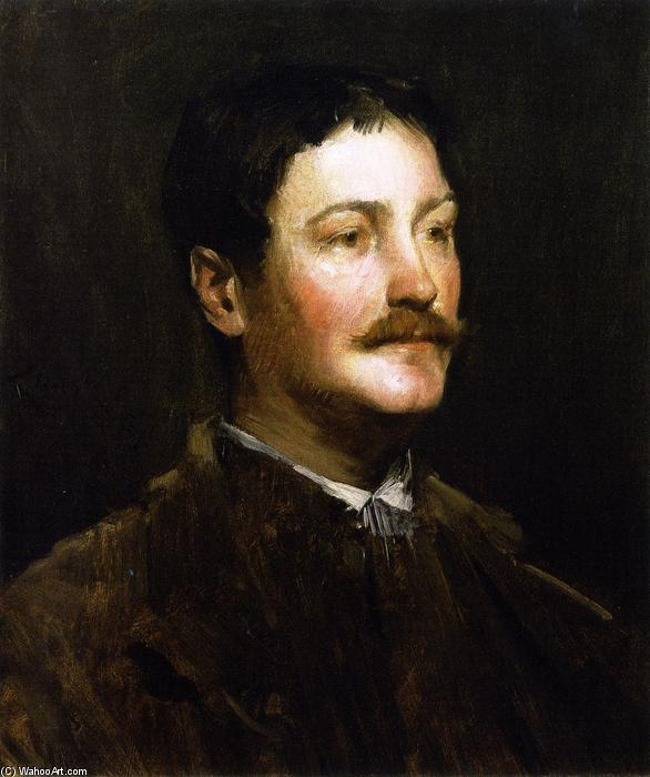famous painting Thomas W. Dewing of William Merritt Chase