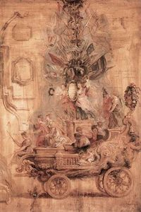 Peter Paul Rubens - The Triumphal Car of Kallo (sketch)