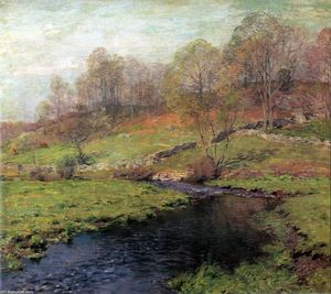 Willard Leroy Metcalf - The Trout Brook