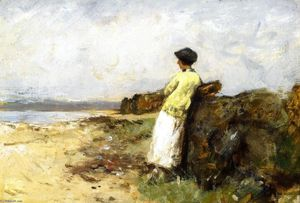 Robert Gemmell Hutchison - The Trysting Place, Machrihanish