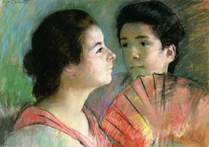 Mary Stevenson Cassatt - Two Sisters