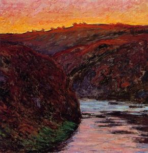 Claude Monet - Valley of the Creuse, Sunset