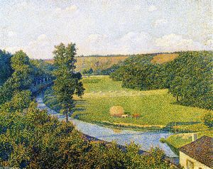 Theo Van Rysselberghe - The Valley of the Sambre