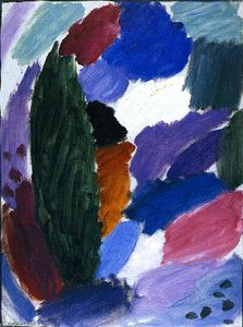 Alexej Georgewitsch Von Jawlensky - Variation: Winter