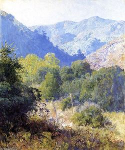 Guy Orlando Rose - View in the San Gabriel Mountains