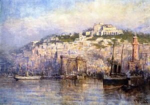 Frederick Mccubbin - View of Naples (also known as Castle St. Elmo)