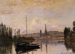 Claude Monet - View of Rouen