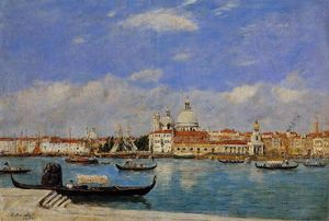Eugène Louis Boudin - View of Venice