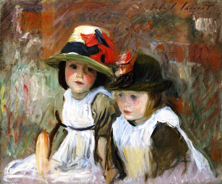 famous painting The Village Children of John Singer Sargent