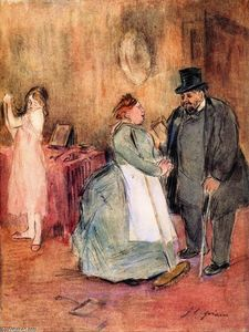 Jean Louis Forain - The Visit