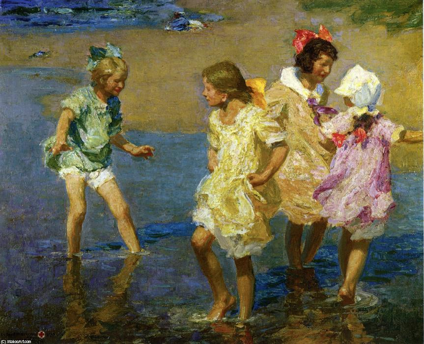 famous painting Water Lillies of Edward Henry Potthast