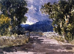 David Cox - A Welsh Road