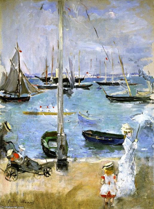 famous painting West Cowes (also known as Port in England) of Berthe Morisot