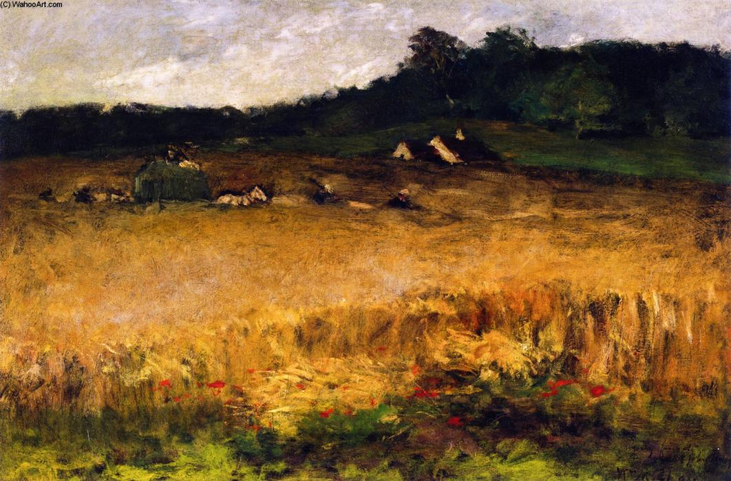 famous painting Wheat Field of William Merritt Chase