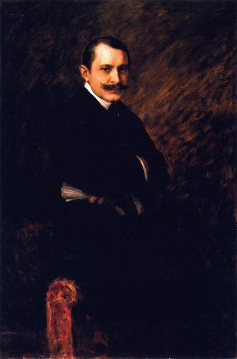 famous painting William Clyde Fitch of William Merritt Chase