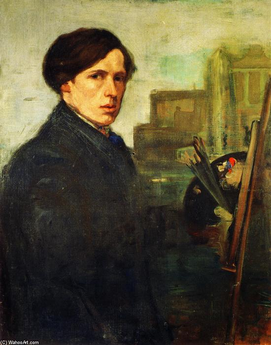 famous painting William Orpen of Charles Edward Conder