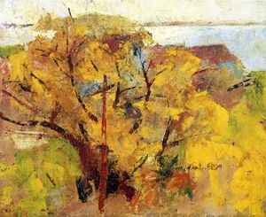 Charles Webster Hawthorne - Willows