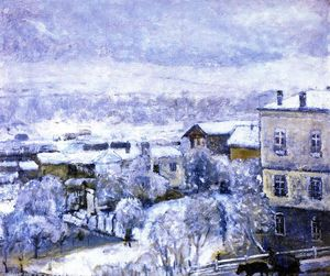 Frederick Carl Frieseke - Winter Landscape