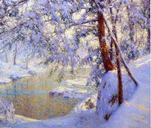 Walter Launt Palmer - Winter Light and Shadows