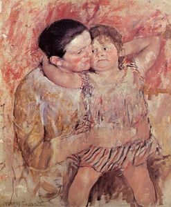 Mary Stevenson Cassatt - Woman and Child