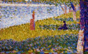 Georges Pierre Seurat - Women by the Water