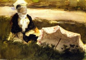 John Singer Sargent - Woman with Parasol