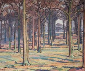 Spencer Frederick Gore - Wood in Richmond Park