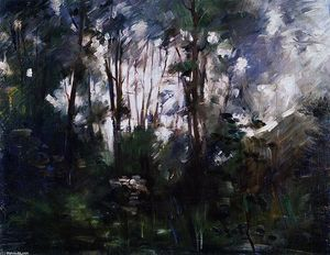 Lovis Corinth (Franz Heinrich Louis) - Wood near Dachau