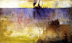 Charles Edward Conder - The Wreck