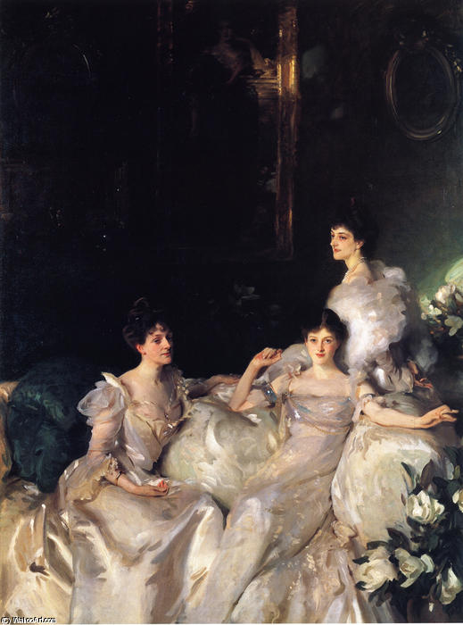 famous painting The Wyndham Sisters of John Singer Sargent