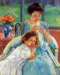 Mary Stevenson Cassatt - Young Mother