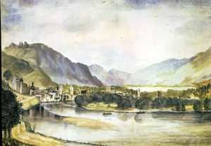 Albrecht Durer - The city of Trento
