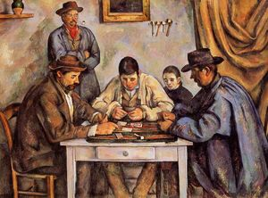 Paul Cezanne - The Card Players