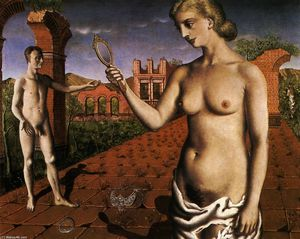 Paul Delvaux - Afternoon Mass