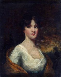 George Chinnery - Portrait Of A Lady