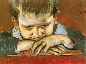 Stanislaw Wyspianski - Study Of The Child