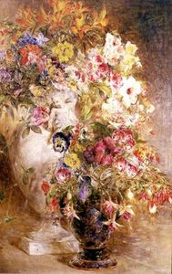 William Huggins - A Profusion Of Flowers