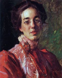 William Merritt Chase - Elizabeth Fisher