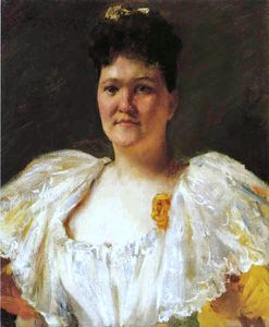 William Merritt Chase - Portrait Of A Woman -
