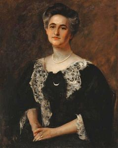 William Merritt Chase - Sarah Frances Joost
