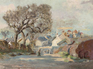 William Stewart Macgeorge - Kirkcudbright From Barrhill