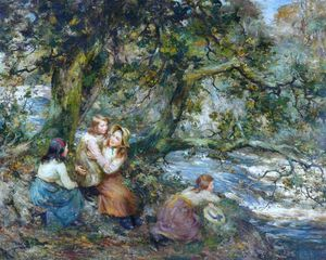 William Stewart Macgeorge - The Linn Pool