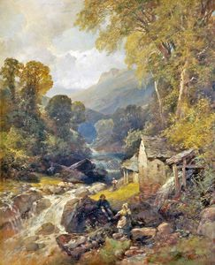 James Duffield Harding - Water Mill