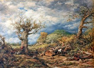 John Linnell - The Woodcutters