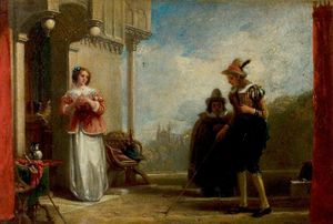 Augustus Wall Callcott - The Merry Wives Of Windsor