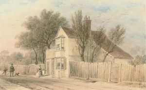 Thomas Hosmer Shepherd - Roseland Cottage, Cromwell Lane, South Kensington