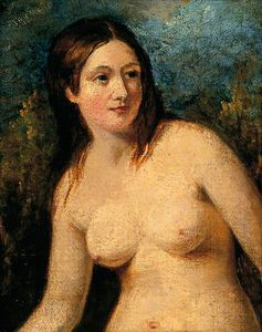 William Etty - Female Nude -