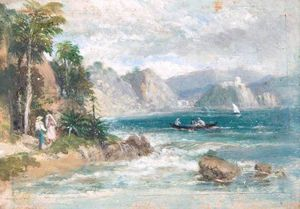 William Havell - The Braganza Shore At Rio De Janeiro, Brazil